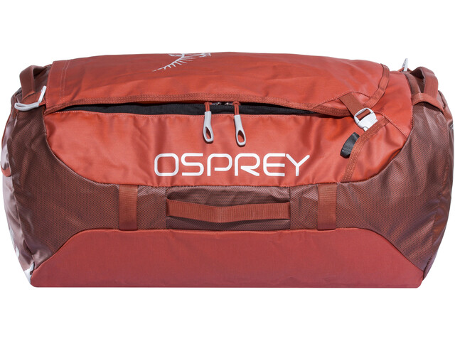 Osprey Transporter 65 Duffel Bag, ruffian red